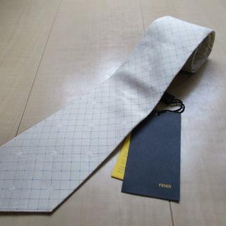 フェンディ(FENDI)の未使用 フェンディFENDI シルク100% ネクタイ イタリア製(ネクタイ)