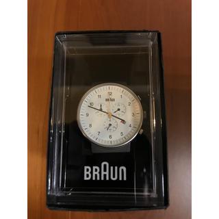 ブラウン(BRAUN)のBRAUN 腕時計 BN0035WHBKG(腕時計(アナログ))