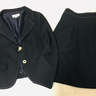 SOUP - SOUP/レディーススカートスーツセット /入学式 /オフィス/ネイビー