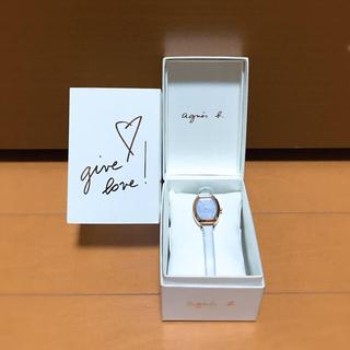 アニエスベー(agnes b.)の⭕️年末セール⭕️ 6980→4980 agnes b 腕時計 女性用(腕時計)