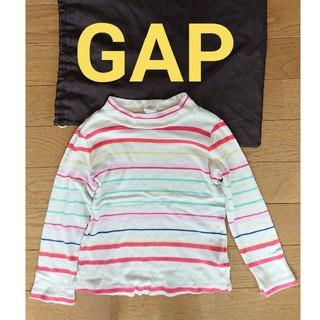 ギャップ(GAP)のボーダー トップス 90cm 100cm 3歳 ベビー キッズ GAP(Tシャツ/カットソー)
