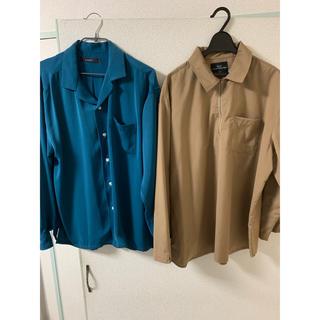 オープンカラーシャツ&ハーフジップシャツ