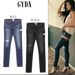 GYDA - GYDA ダメージデニム SIDERIPPED