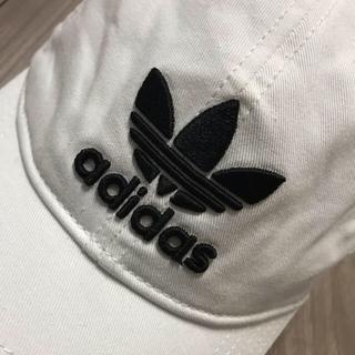 adidas - アディダス adidas  キャップ 白 レディース
