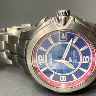 セイコー(SEIKO)のSEIKO TB22-0AG0 佐藤琢磨3000本限定モデル(腕時計)