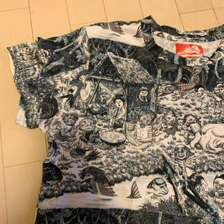 アチャチュムムチャチャ(AHCAHCUM.muchacha)のケイキィ妖怪シャツ鬼太郎(Tシャツ(半袖/袖なし))