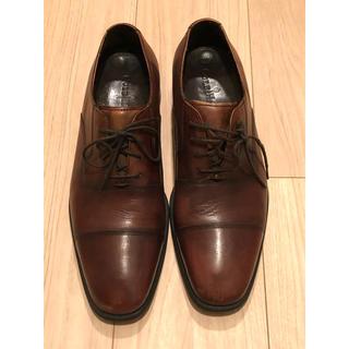コールハーン(Cole Haan)の【美品】Cole Haan コールハーン 茶色 革靴(ドレス/ビジネス)
