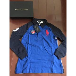Ralph Lauren - 新品タグ付き☆ラルフローレン  長袖ポロシャツ 6T  120cm