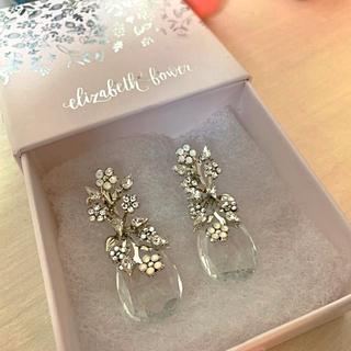 Vera Wang - エリザベスバウアー Sakura Dew Drop Earrings