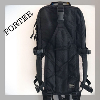 ポーター(PORTER)のPOTER ブラック バッグパック リュック (バッグパック/リュック)