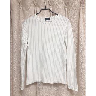 レディーストップス 長袖 薄地 ストライプ ♡(Tシャツ(長袖/七分))