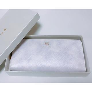 ヨンドシー(4℃)の新品 ルリア4℃ Luria4℃ 財布 長財布 レディース ラウンドファスナー(財布)