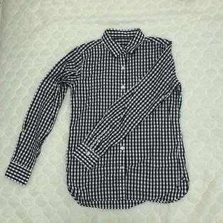 MUJI (無印良品) - 無印 ギンガムチェックシャツ XS