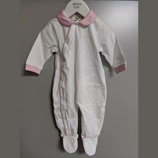 アルマーニ(Armani)の新品 アルマーニ ベビー ARMANI BABY ベビー服 長袖 ロンパース(ロンパース)