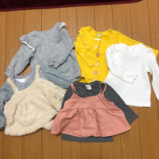 エニィファム(anyFAM)の女の子 80 まとめ売り(トレーナー)