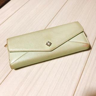 ヨンドシー(4℃)のルリア4℃♡ミントグリーン長財布(財布)