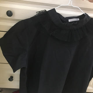 メルロー(merlot)のmerlot plus フリル半袖(シャツ/ブラウス(半袖/袖なし))
