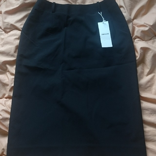 1400円均一!コムサイズム 未使用品 スカート黒 Lサイズ