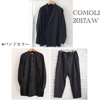 コモリ(COMOLI)のCOMOLIコットンネル 3ピースセットアップ(セットアップ)