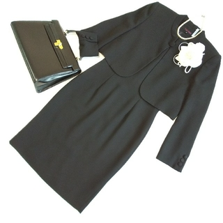 YUKI TORII INTERNATIONAL - ☆美品☆YUKITORIIブラックフォーマル☆礼服*喪服☆7号