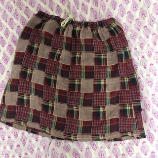 イーストボーイ(EASTBOY)のEast Boy コットン100%スカート(ひざ丈スカート)