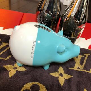 ティファニー(Tiffany & Co.)のTiffany 豚 貯金箱(置物)