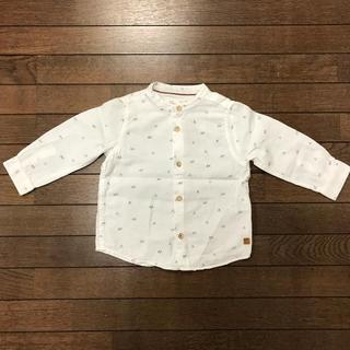 ザラキッズ(ZARA KIDS)のザラ ZARA Baby シャツ 86cm 【美品】(シャツ/カットソー)