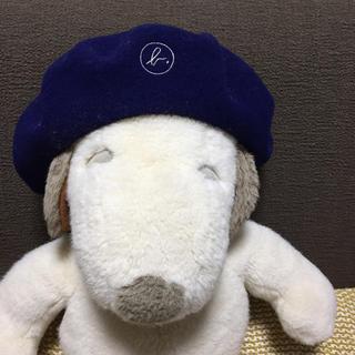 アニエスベー(agnes b.)の☆みき様専用☆ アニエスb  新品タグ付き ベレー帽(ハンチング/ベレー帽)