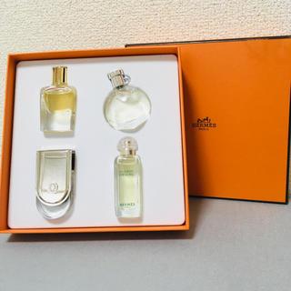エルメス(Hermes)のHERMES エルメス  香水 ミニボトル4個セット *化粧箱付き(香水(女性用))