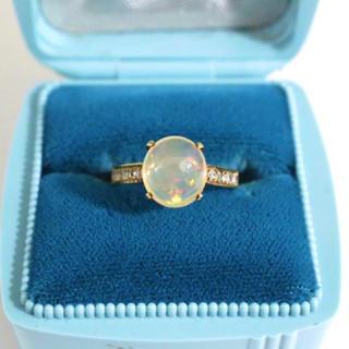 オパール K14指輪(リング(指輪))