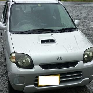 スズキ(スズキ)のSUZUKI KeI オートマ 4WD ターボ *部品取り用 リサイクル券込(車体)
