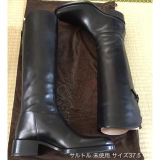 サルトル(SARTORE)の★サルトル SARTORE★ ジョッキブーツ 37.5★ 裏張りあり 未使用品(ブーツ)