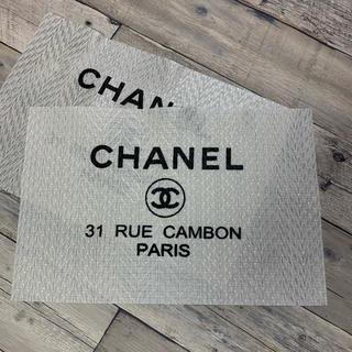 CHANEL - CHANEL  ランチョンマット 2枚