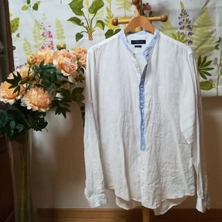 ZARA - ✨ZARA ザラ リネン100シャツ Lサイズスリムフィット♪
