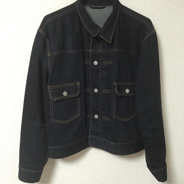 GU(ジーユー)のメンズ GU ジージャン Sサイズ メンズのジャケット/アウター(Gジャン/デニムジャケット)の商品写真