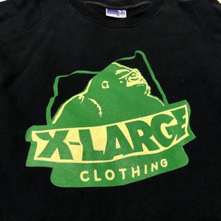 エクストララージ(XLARGE)のx-large レアな半袖トレーナー!Lサイズ エクストララージ(Tシャツ/カットソー(半袖/袖なし))
