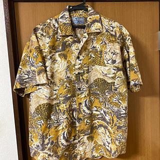 ケンゾー(KENZO)のアニマル大型猫柄KENZOの半袖シャツ(Tシャツ(半袖/袖なし))
