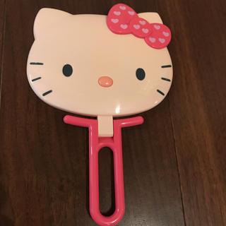 サンリオ(サンリオ)のHello kitty ミラー 新品 ☆(ミラー)