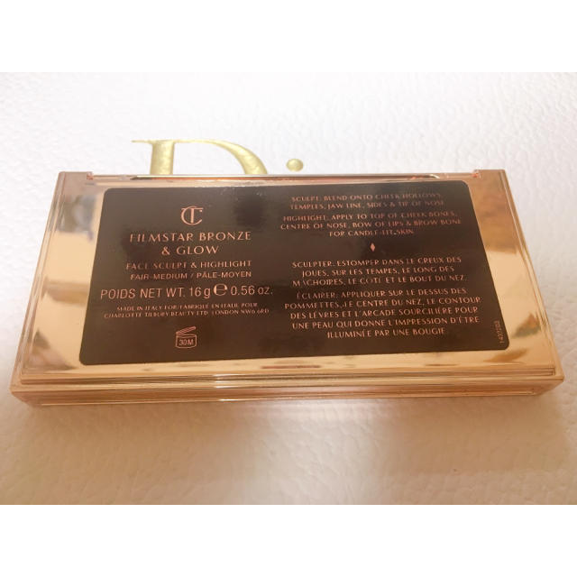 Sephora(セフォラ)のcharlotte tilbury filmstar bronze & glow コスメ/美容のベースメイク/化粧品(フェイスカラー)の商品写真