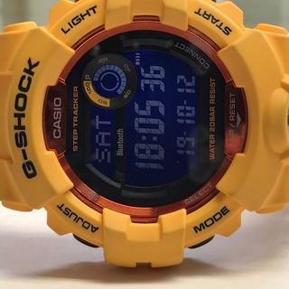 カシオ(CASIO)のカシオ G-SHOCK腕時計 GDB-800-4JF イエロー(腕時計(デジタル))