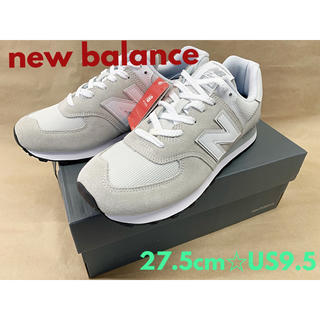 ニューバランス(New Balance)の男性用メンズ紳士ランニングシューズ new balance新品ML574 EGW(スニーカー)