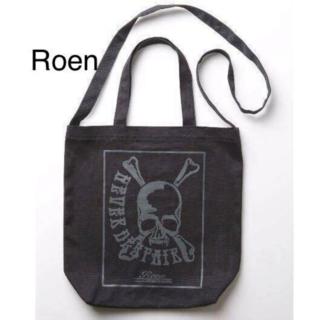 Roen - 【未使用】☆Roen(ロエン)スカル柄2WAYショルダー・トートバッグ☆