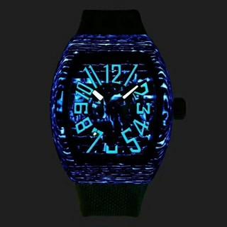フランクミュラー(FRANCK MULLER)のFrak Muller 腕時計メンズ自動巻 ナイトビジョン機能(腕時計(アナログ))
