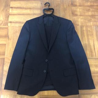 コムサイズム(COMME CA ISM)のスーツ上下 ブラック ラメ(セットアップ)
