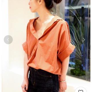 プラージュ(Plage)の抜け襟オーバーシャツ プラージュ(シャツ/ブラウス(半袖/袖なし))
