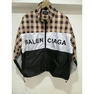 バレンシアガ(Balenciaga)のバレンシアガトラックジャケット (ナイロンジャケット)
