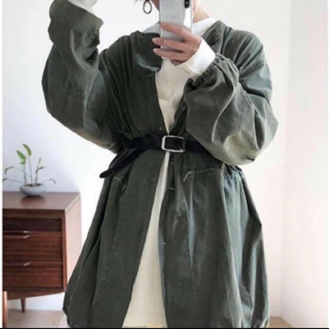 TODAYFUL(トゥデイフル)のTODAYFUL ボーイフレンド ガスコート 36 レディースのジャケット/アウター(ミリタリージャケット)の商品写真