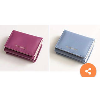 ジルスチュアート(JILLSTUART)の新品未使用 財布 ミニ財布 2点セット 限定カラー 完売 ♡ ジルスチュアート♡(折り財布)