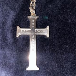 ボーイロンドン(Boy London)のBOY LONDON 十字架 クロス ペンダント ネックレス 90年代物(ネックレス)