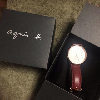 アニエスベー(agnes b.)のagnies b 腕時計 レディース(腕時計)